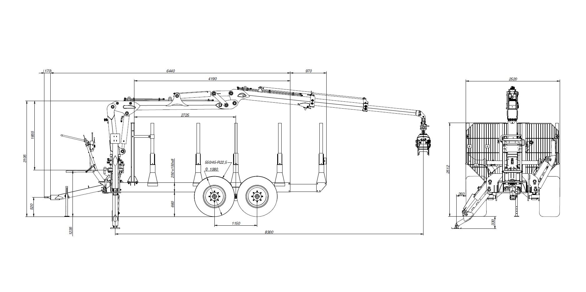 Anhänger - SCANDIC Rückewagen - Die Nummer 1